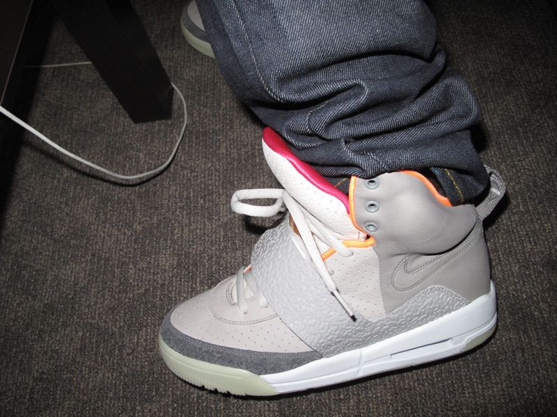 fb702af21 nike air yeezy light charcoal grey Nike Air Yeezy Detailed Pictures •  MAXPREME • .