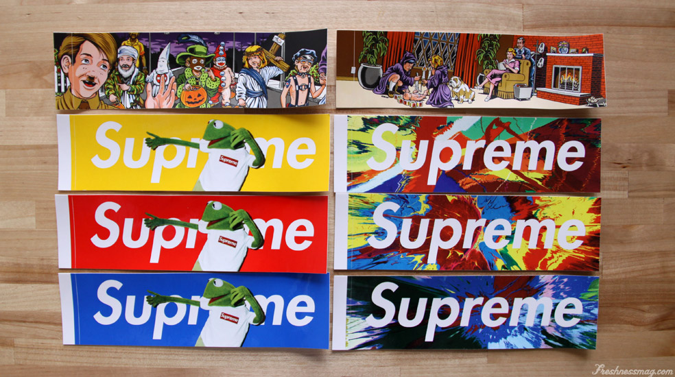 wtb box logo stickers no plain red supremeclothing