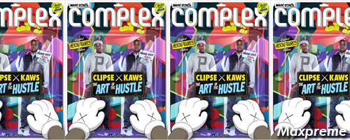 complex magazine clipse kaws cover mxp
