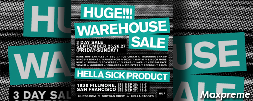 huf warehouse sale mxp