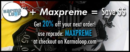 karmaloop mxp rep code