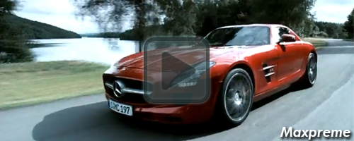 mercedes-benz sls amg trailer mxp