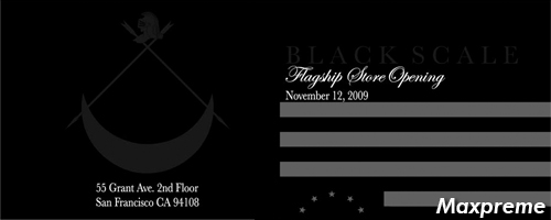 black scale flagship opening mxp